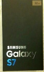 Samsung Galaxy S7 32GB Gold Platinum New unlocked.