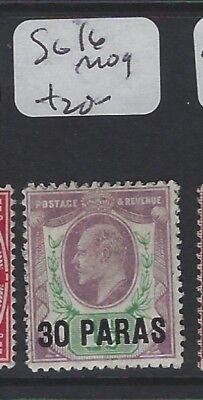 BRITISH LEVANT (P1305B) KE  30 PA/1 1/2D  SG 16  MOG