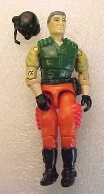 Vintage GI Joe  HOT SEAT 1989 Raider Driver  Action Figure Hasbro