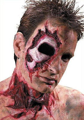 Socket to Me Poked Missing Eye Wound Halloween Costume Makeup Latex Prosthetic