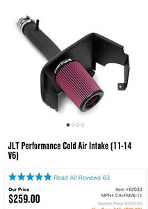 Cold air intake for 2011-2014 v6 mustangs