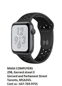 Apple Watch Series 4 NIKE + [GPS] 44 MM  Space Gray Aluminium Case; Brand new sealed, storedeal_2982387