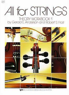1 Theory Workbook - All For Strings Theory Workbook 1 Cello