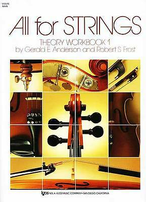 1 Theory Workbook - All For Strings Theory Workbook 1 Violin