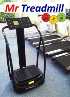 CARDIOTECH CV12 Vibration Machine >> As New! << Mr Treadmill Hendra Brisbane North East Preview