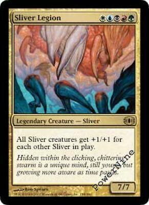 1 Sliver Legion Gold Future Sight Mtg Magic Rare 1x x1