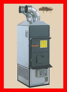 Ofen mit BimschV2 | FABBRI F28 CV | Ofen Werkstattofen Warmluftofen