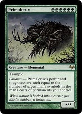 MTG: Primalcrux - Green Rare - Eventide - EVE - Magic Card