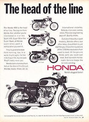 Honda in romn este simplu s cumprai ebay pe zipy 1966 honda super 90 sport 160 super hawk 450 nice original print fandeluxe Gallery
