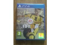 Ps4 game fifa 17 immaculate condition