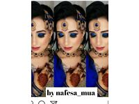 Special offer limited time Qualified hair & makeup artist Nafesa_mua bridal,party etc basic hijaab