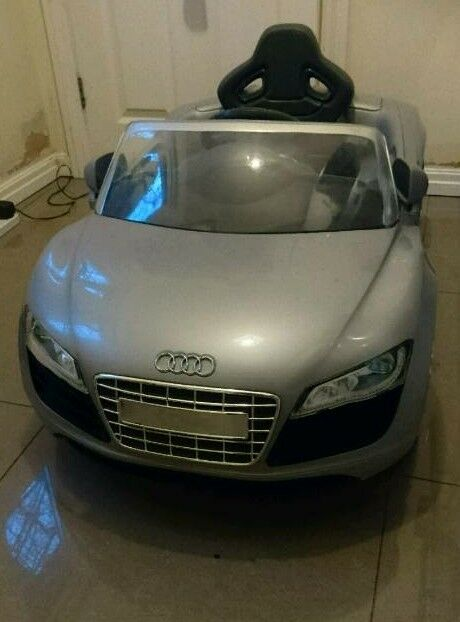 Electric Toy Car Audi R Spyder In Wood Green London Gumtree - Audi electric toy car