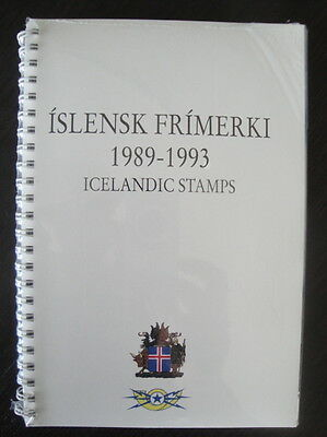 ICELAND Official Gift Folder from Postal Administration UPU 21 Congress on Rummage
