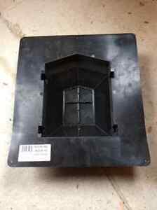2 black plastic roof vents never used St. John's Newfoundland image 2