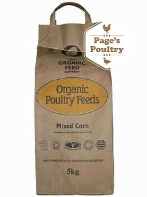 Allen & Page Organic Feed Company Mixed Corn - Poultry Duck Goose Food 5kg