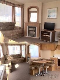 CHEAP STATIC CARAVAN 2 BEDROOMS ST HELENS HOLIDAY PARK ISLE OF WIGHT 12 MONTH SEASON PET FRIENDLY