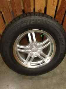 Four Goodyear Nordic winter tires