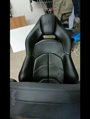 seat ferrari 488 leather