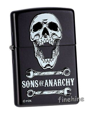 SOA SAMCRO Sons Of Anarchy ZIPPO neu+ovp Collection 2015