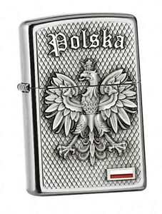 Street Chrome Emblem-ZIPPO neu+ovp POLSKA Polen ADLER