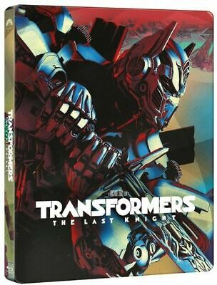 TRANSFORMERS THE LAST KNIGHT STEELBOOK BLU-RAY DVD USED NO DIGITAL