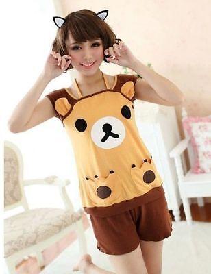Rilakkuma San-X Lounge Pant ,Sleep Pajama, Sleepware Clothing 1set Free shipping