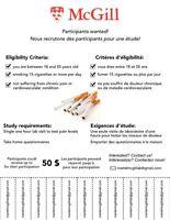 SMOKER STUDY - $50