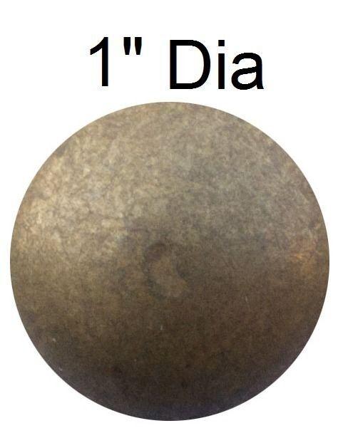 """1""""Dia x5/8""""L Natural Nails Upholstery Tacks Decorative Nail25-50-100-250-500-750"""