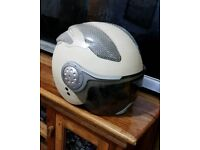 Momo Design Scooter / Moped / Bike Helmet in cream