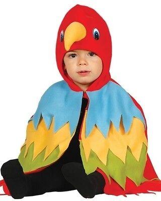 Baby Jungen Mädchen Papagei Vogel Tier Halloween Kostüm Kleid Outfit 12-24mth