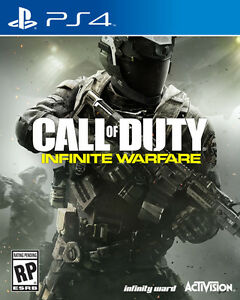 LOOKING FOR A MINT COPY OF CALL OF DUTY INFINITE WARFARE FOR PS4