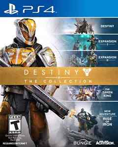 Wanted: Destiny the collection for PS4