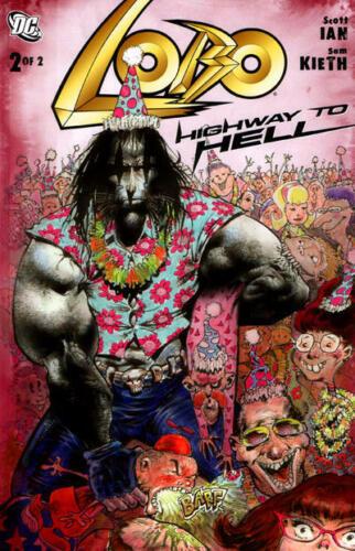 Lobo Highway to Hell 2 Scott Ian Sam Kieth Anthrax Heavy Metal 2010 NM+