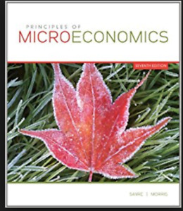 Principles of Microeconomics by Sayre 7th Edition