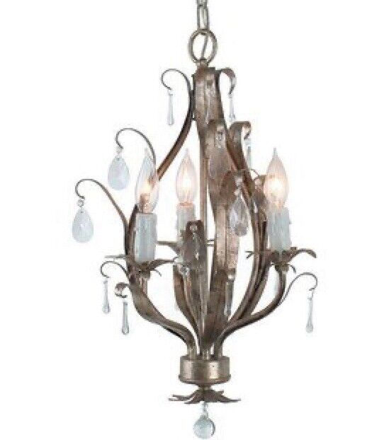 Antique Petites Collection 3 Light Mini Chandelier by Royal