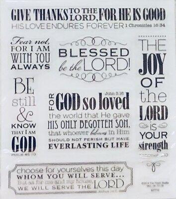 Religious Bible Verse Phrase Scrapbook - Scripture Stickers