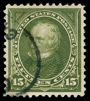 MOMEN: US STAMPS #284 USED XF