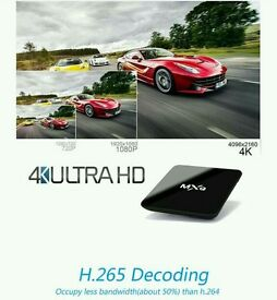 ANDROID TV BOX. 4K HD ULTRA IPTV. GAMES