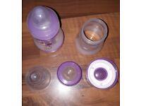 2 MAM easy start 5oz bottles