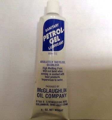 petrol gel technical grease, Soft Ice Cream Machine Lubricant.  FIRST CLASS Post