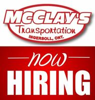 Owner Operator Opportunities Available! Trucks Available!