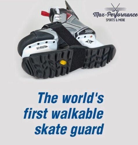 Skaboots Walkable Hockey Skate Guards! Black Neon Green Skates Guard