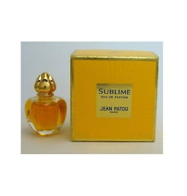 Jean Patou Sublime Vintage Eau De Parfum 4ml Miniature For Her New In Box