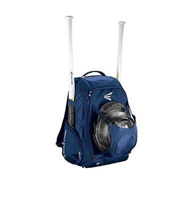 Baseball Bat Pack Backpack Softball Equipment Gear Bats Holder Navy Sports Bag