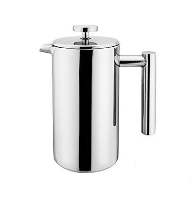 Stainless Steel Double Wall French Press Coffee Tea Maker 1L 34oz