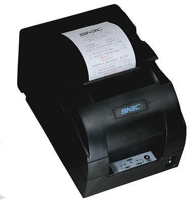 Snbc Btp-m280b300b Impact Kitchen Printer Serial Usb Auto Cutter Dark Gray