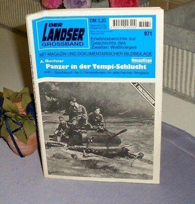 Der Landser Grossband - Panzer in der Tempi-Schlucht / Nr. 971