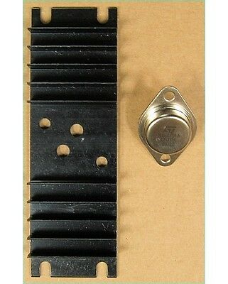 Lm317k Adjustable Voltage Regulator To-3 W Large Heat Sink Lm317 Nte970 Cross