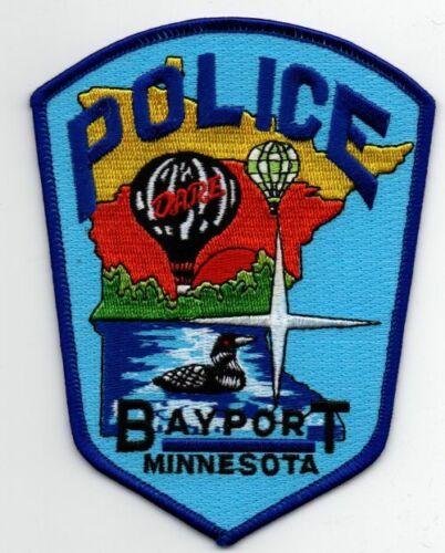 MINNESOTA MN BAYPORT POLICE NICE PATCH SHERIFF