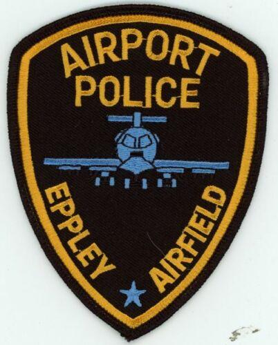NEBRASKA NE EPPLEY AIRFIELD POLICE OMAHA NEW PATCH SHERIFF